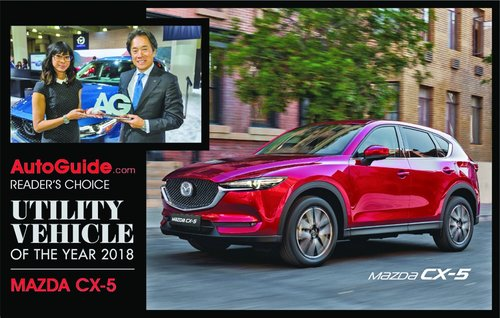 Utility Vehicle of the Year award for Mazda CX-5