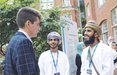 12 students from Oman attend London International Youth Science Forum