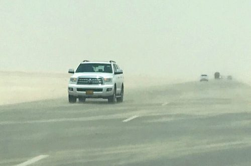 ROP warns of poor visibility on road leading to Dhofar