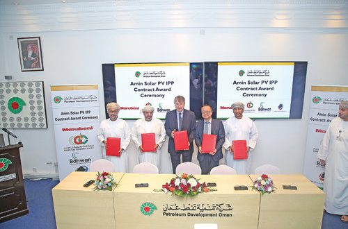 Contract for first solar photovoltaic independent power producer signed