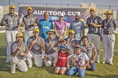 Ernst & Young Oman lifts Auditors Cricket Cup for fourth time in row