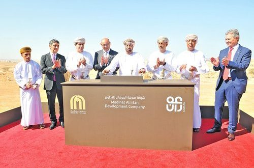 Foundation stone of RO5bn Madinat al Irfan project laid