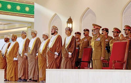 His Majesty the Sultan presides over 48th National Day military parade