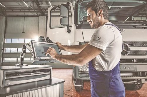 Mercedes-Benz Oman offers health checks on Actros trucks in Sohar