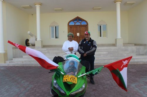 Omani biker embarks on 5,000km journey to mark 48th National Day