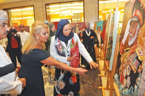 Opera Galleria exhibition pays tribute to His Majesty the Sultan