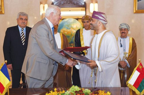 Sultanate, Romania sign mutual visa exemption agreement