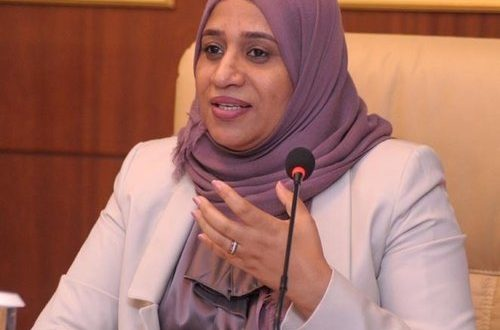 Dr Sharifa wins Arab Woman Award