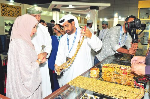 Wide array of products dazzle visitors at Muscat international jewellery fair