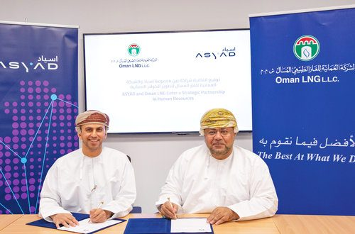 Asyad, Oman LNG join hands to share experiences in HR
