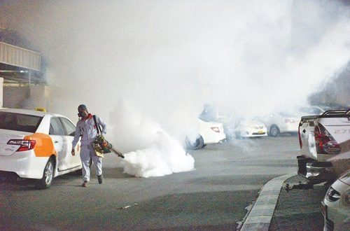 Campaign to control dengue fever mosquitoes extended till Jan 23