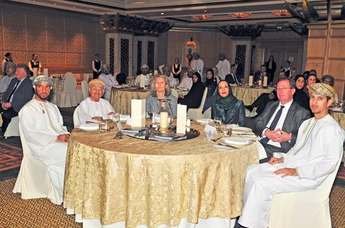 Gathering focuses on youth training, issues in Oman, UK