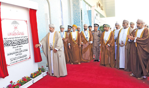 H E Sayyid Hamoud officially inaugurates Duqm Airport
