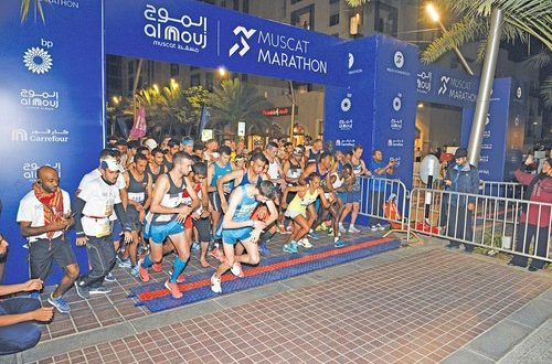 Muscat Marathon draws highest number of elite athletes and amateur runners