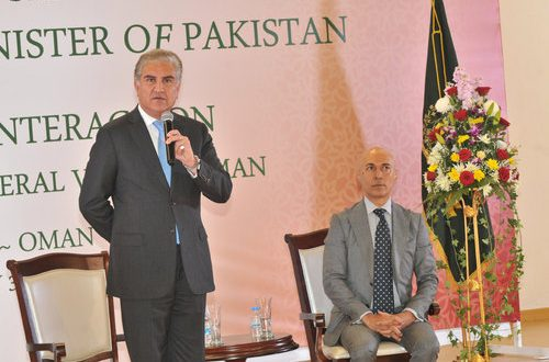 Oman could play role to resolve India-Pakistan issues: Qureshi