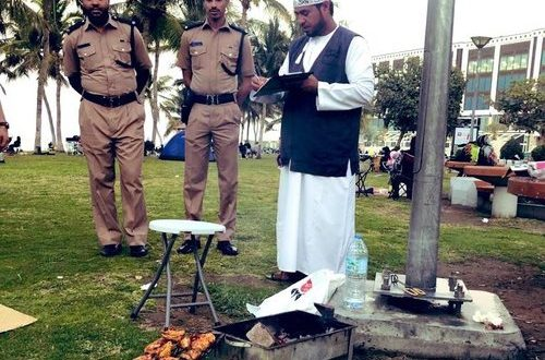 RO100 fine for barbecuing in parks, some beaches in Muscat