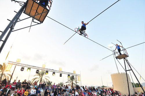 These extreme acts are a roaring success