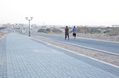 Walkways, cycle tracks coming up in Amerat