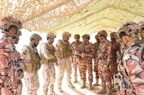 12-day Oman-UAE military exercise begins