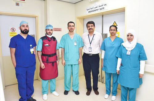 Khoula Hospital conducts seven surgeries to treat aneurysm