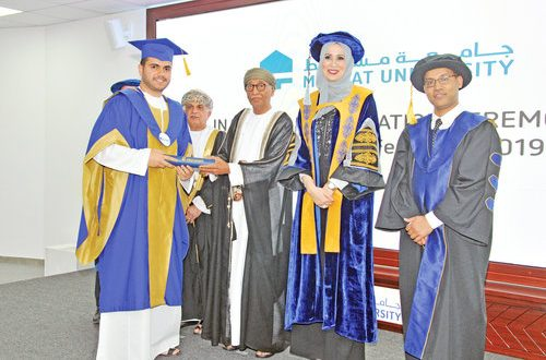 Muscat University holds first graduation event
