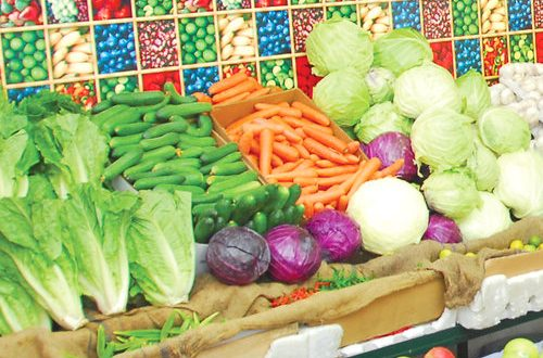 Vegetable prices surged by over 7% in January