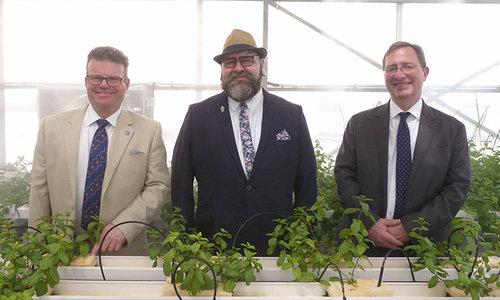 Greenhouse producing vegetables, fruits opens at Sohar University