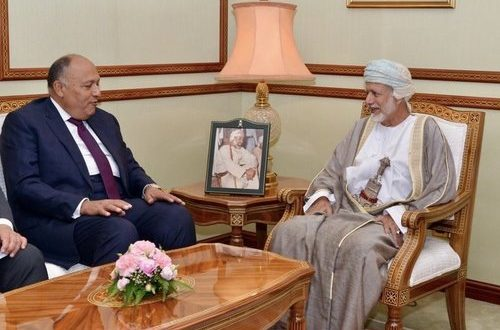 Oman, Egypt ties are historical, well-established, says Shoukry