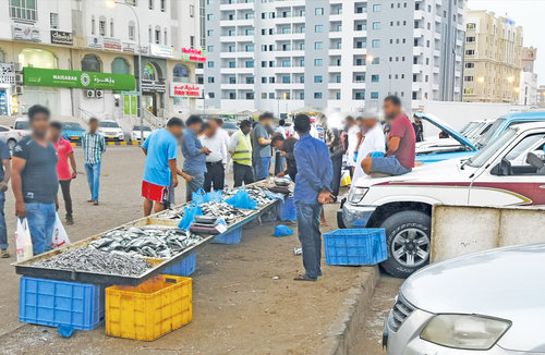 Roadside fish vending illegal; follow rules or face fines