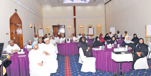 Workshop on risk communication reviews sultanate's preparedness