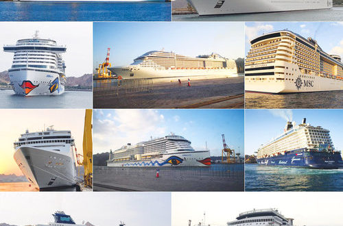 72 cruise ships bring 165,000 tourists to PSQ in Q1 this year