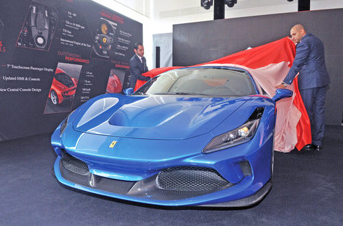 All-new Ferrari F8 Tributo makes its debut