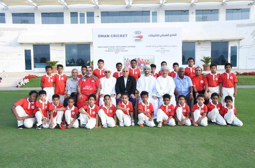 Game changer: Slowly, cricket takes root in Omani schools