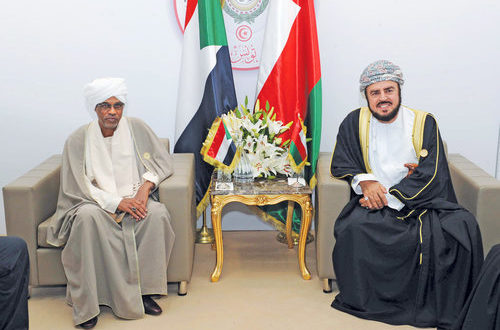 His Majesty the Sultan receives message from Sudanese President