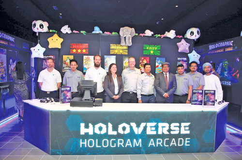 Middle East's first holographic gaming centre opens