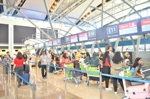 Muscat airport records 8.7% rise in passengers, 2.2% increase in flights