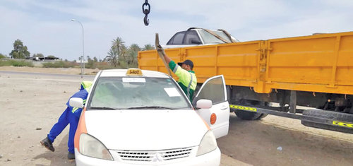 Towed away: Campaign targets Seeb