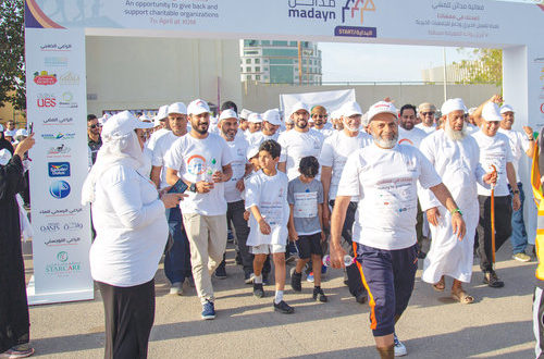 Walkathons held to encourage healthy living