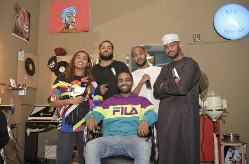 Breaking a taboo: An all-Omani barber shop