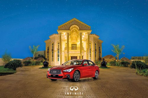 Time to grab your dream sedan Infiniti Q50