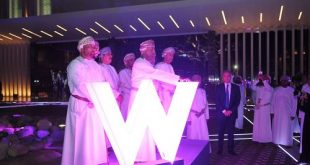 Five-star hotel W Muscat with 279 rooms opens to public