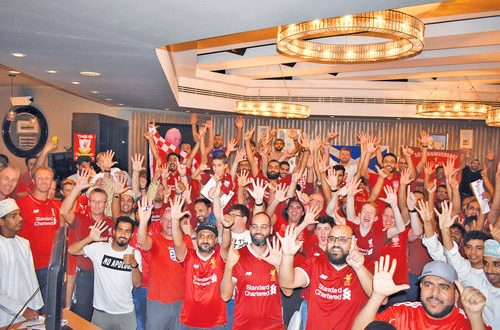 Oman Reds celebrates as Liverpool wins sixth CL title