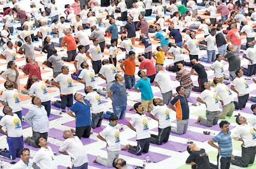 Over 6,000 attend International Day of Yoga event in Muscat