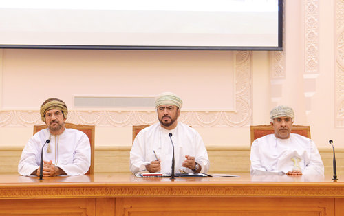 32nd batch of Command and Staff College visits Council of Oman