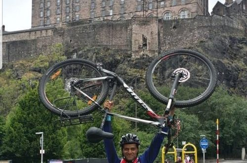 Cycling 1,400km in Europe to mark 49th Renaissance Day