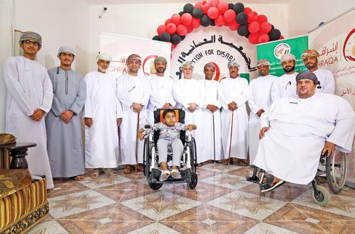 Eshraqa provides support to differently abled