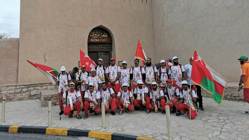 Marching from Nizwa to Salalah to mark Blessed Renaissance Day