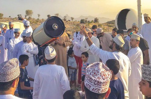 Over 100 take part  in astronomy camp
