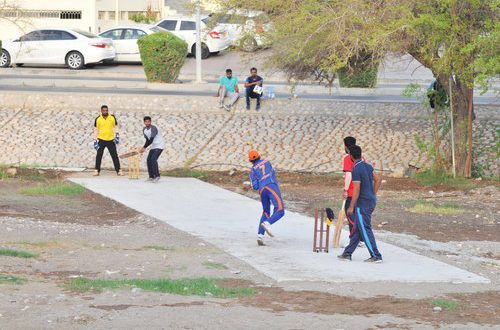 When a wadi becomes a playground for cricket