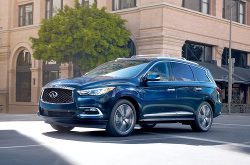 Infiniti QX60 offers safety